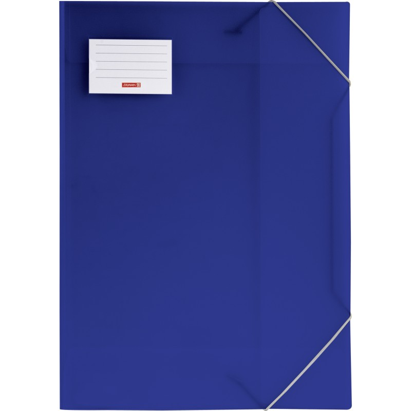 BRUNNEN Sammelmappe · DIN A3 · FACT! · transzulente PP·Folie · blau