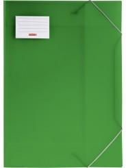 BRUNNEN Sammelmappe · DIN A3 · FACT! · transzulente PP·Folie · grün