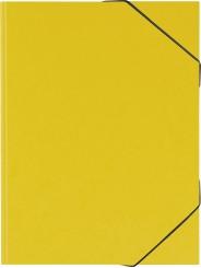 BRUNNEN Sammelmappe · DIN A3 · FACT!plus Karton · 600g/m² · gelb