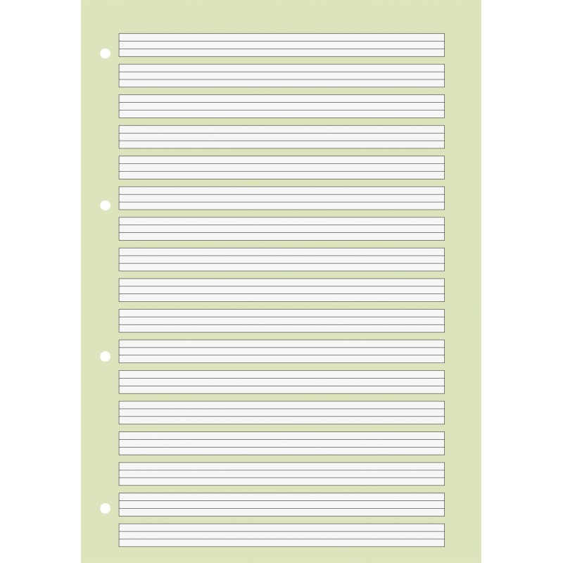 BRUNNEN Schulblock · DIN A4 · Lineatur 2 · 50 Blatt · Premium