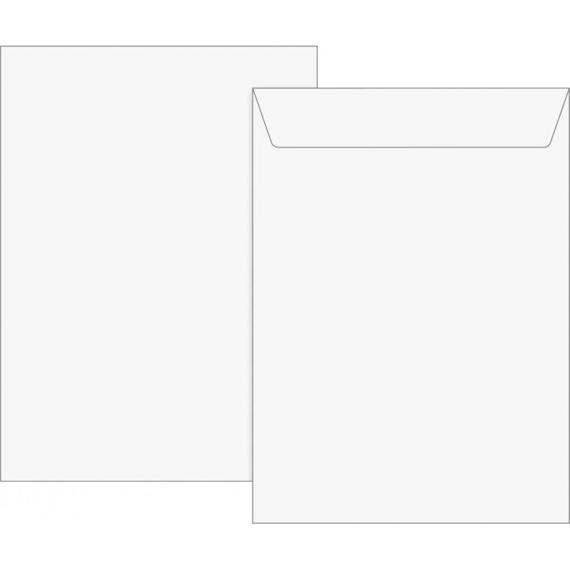 BRUNNEN Versandtasche C4 weiß 5 Stück