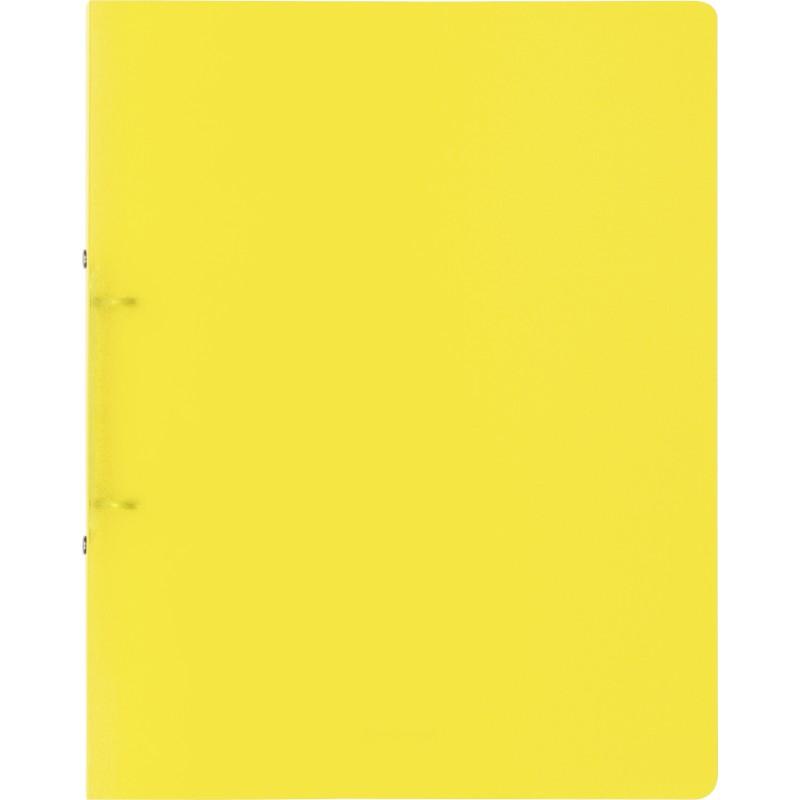 BRUNNEN Ringbuch FACT! · DIN A4 · 25mm · 2 Ringe · gelb