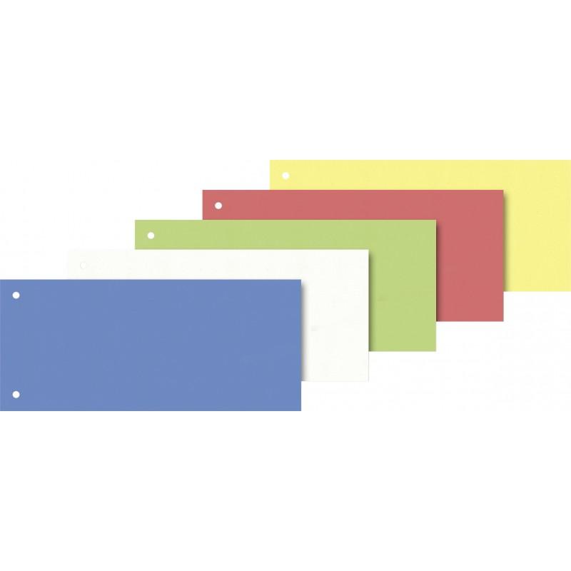 BRUNNEN Trennstreifen 10,5x24cm · 100 Stück · farblich sortiert
