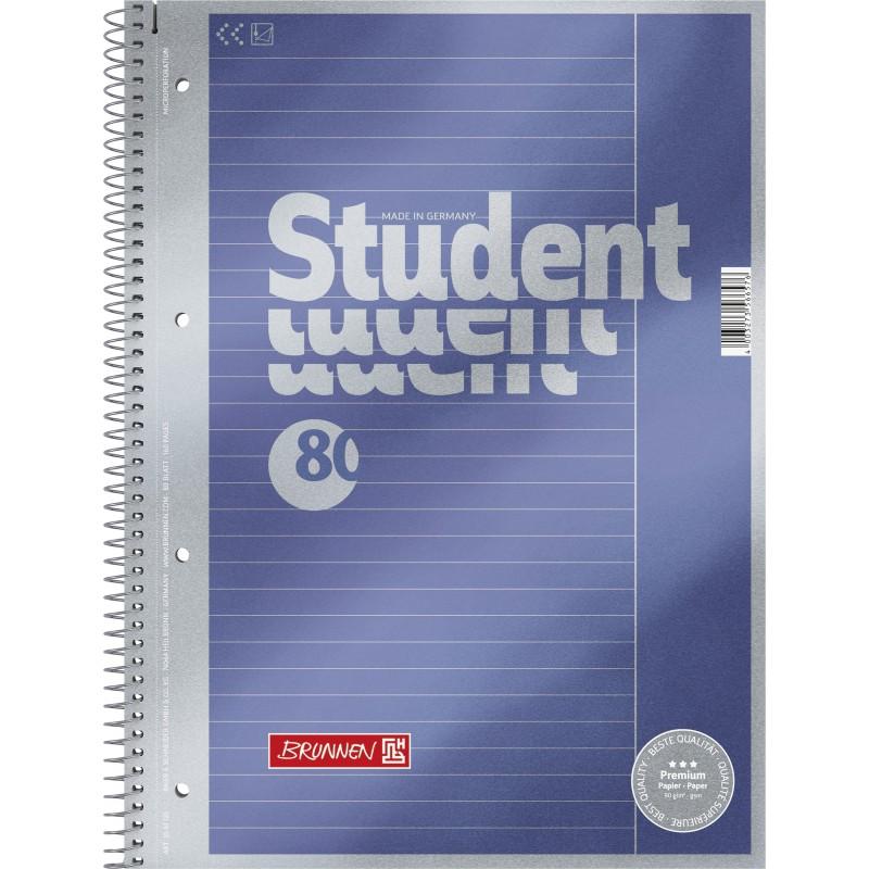 BRUNNEN Premium-Collegeblock · DIN A4 · Lineatur 25