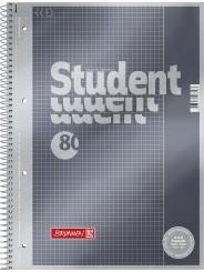 BRUNNEN Premium-Collegeblock · DIN A4 · Lineatur 26