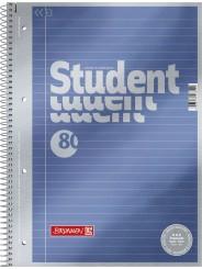 BRUNNEN Premium-Collegeblock · DIN A4 · Lineatur 21 · liniert