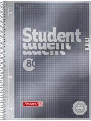 BRUNNEN Premium-Collegeblock · DIN A4 · Lineatur 22 · kariert
