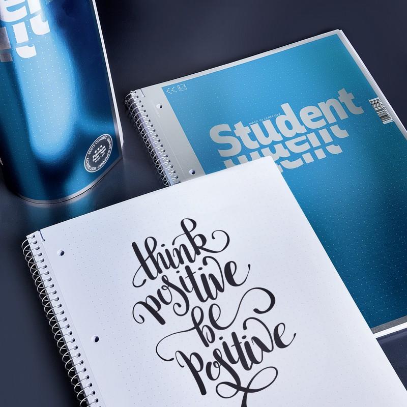 BRUNNEN Premium-Collegeblock · DIN A4 · dottet · Punkteraster