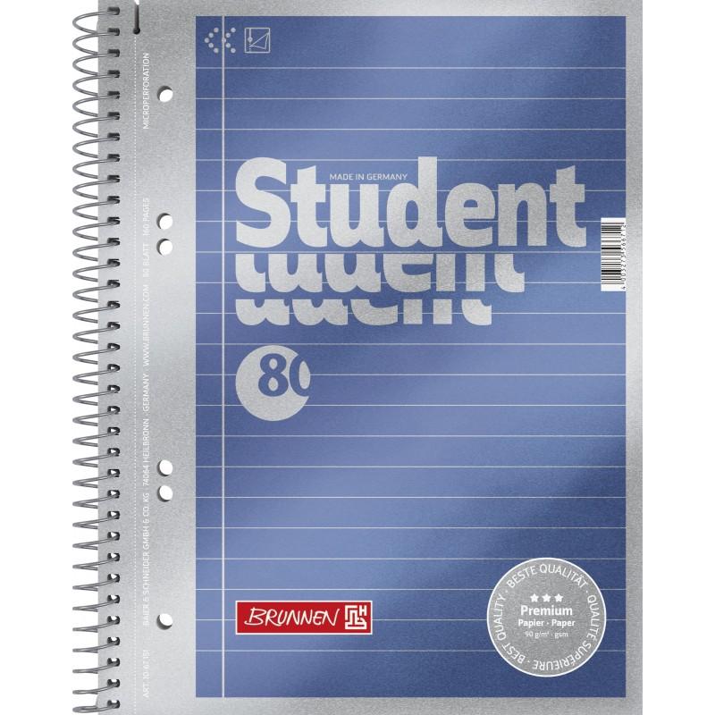 BRUNNEN Premium-Collegeblock · DIN A5 · liniert