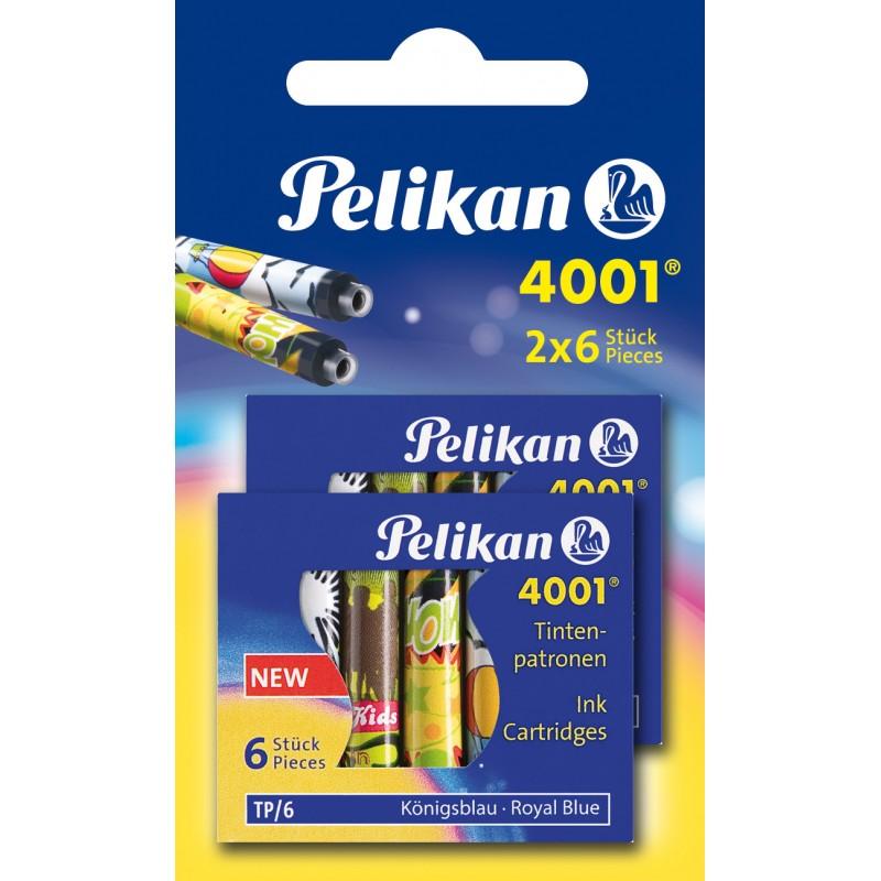 Pelikan Tintenpatronen · königsblau