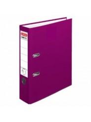 Herlitz Ordner A4 · breit (8cm) · maX.file protect · beere