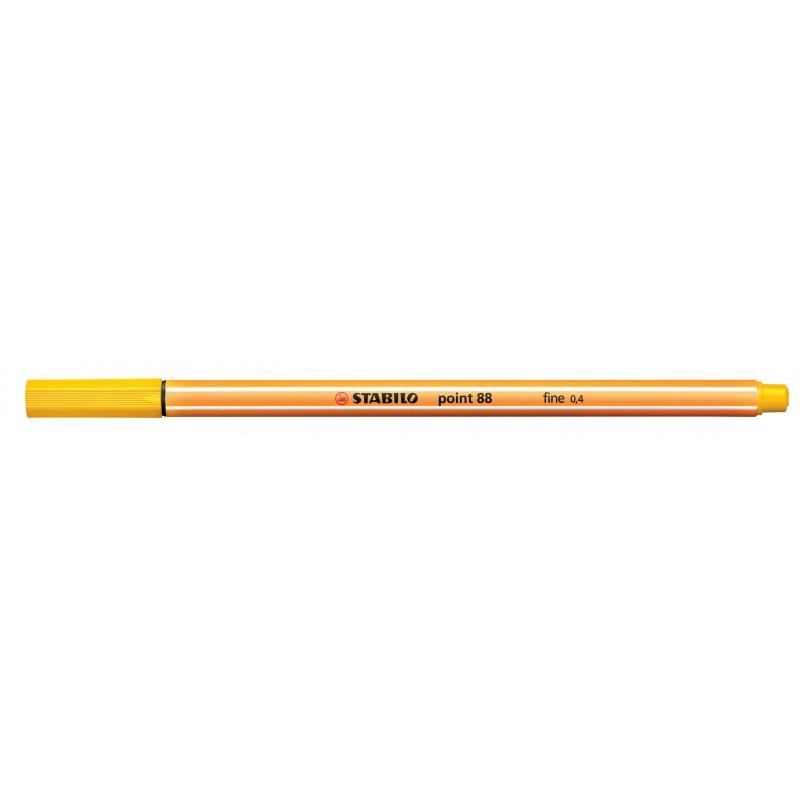 STABILO® Fineliner STABILO® point 88® · 0,4 mm · gelb