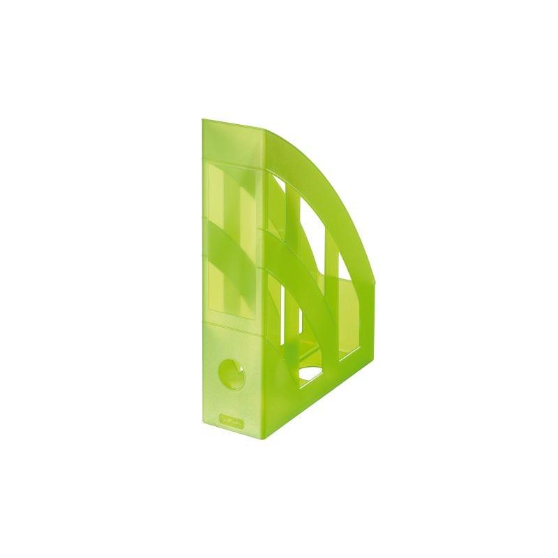 Herlitz Stehsammler · classic · grün transluzent