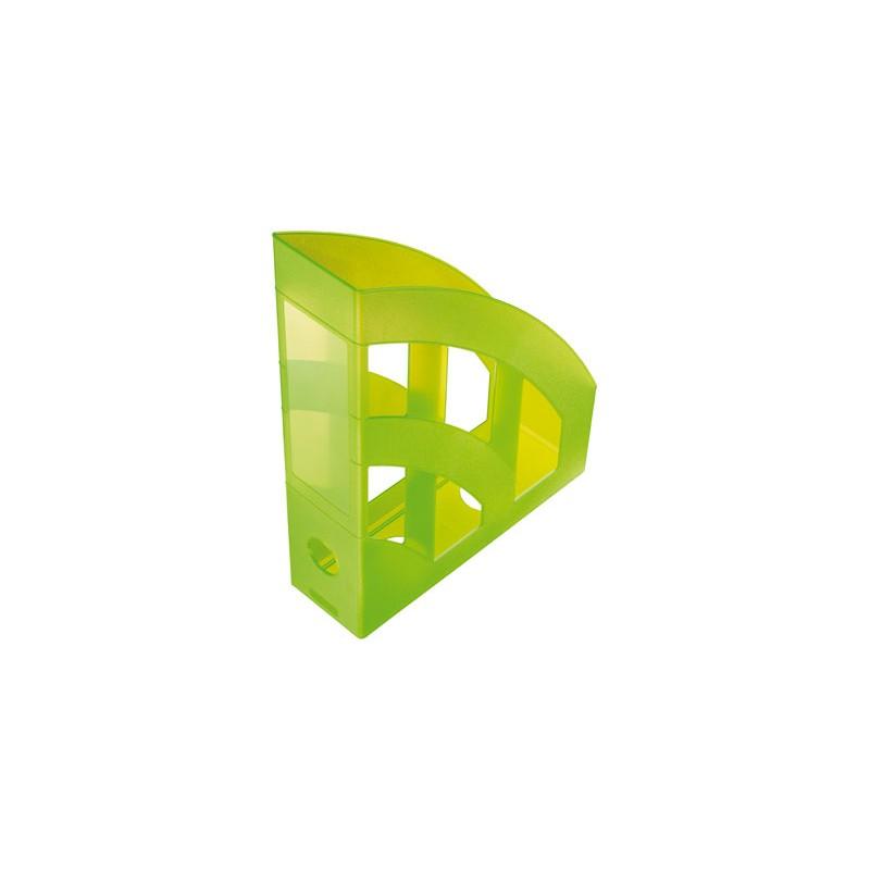 Idena Stehsammler · transluzent hellgrün
