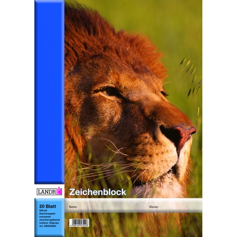 Landré Landré Zeichenblock · A3 · 20 Blatt · 100 g/m²