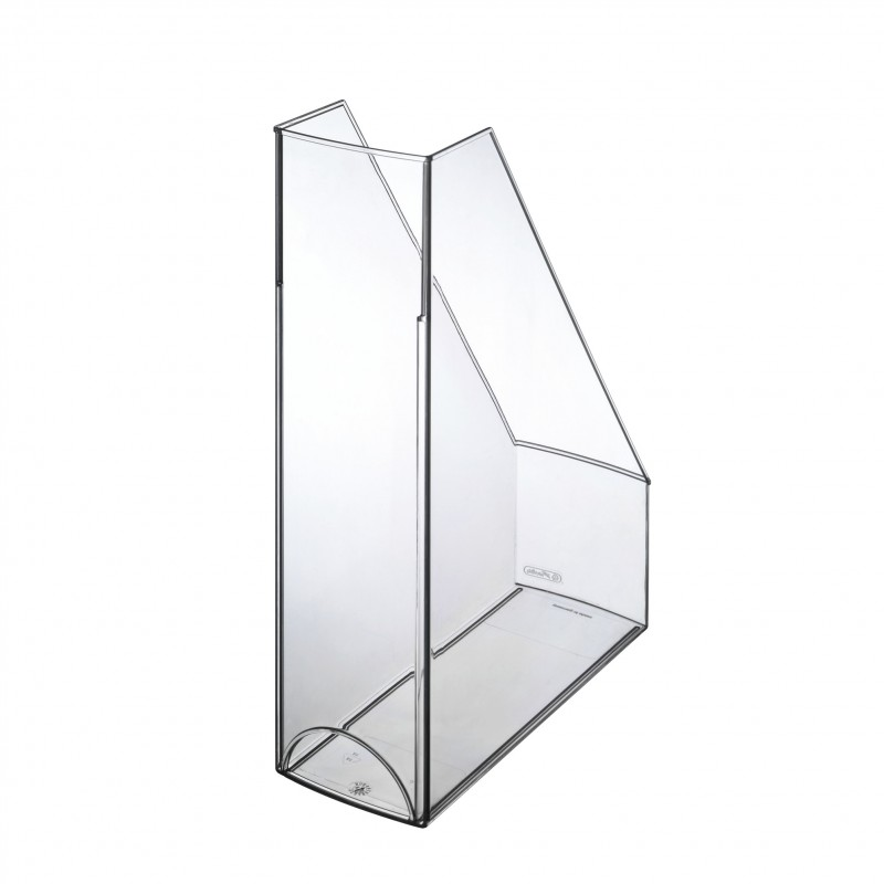 Herlitz Stehsammler · A4-C4 · Kunststoff · glasklar ·  Kunststoff