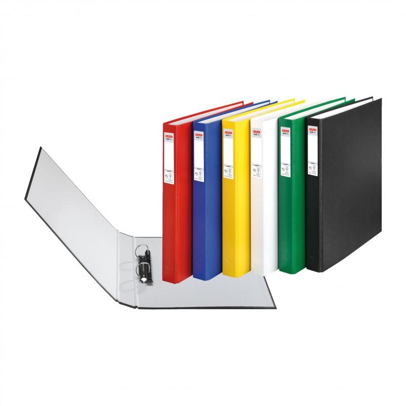 Herlitz Ringbuch · maX.file protect · A4 · gelb
