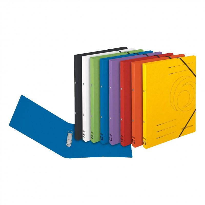 Herlitz Ringbuch / Ringhefter · colorspan · A4 · schmal · schwarz