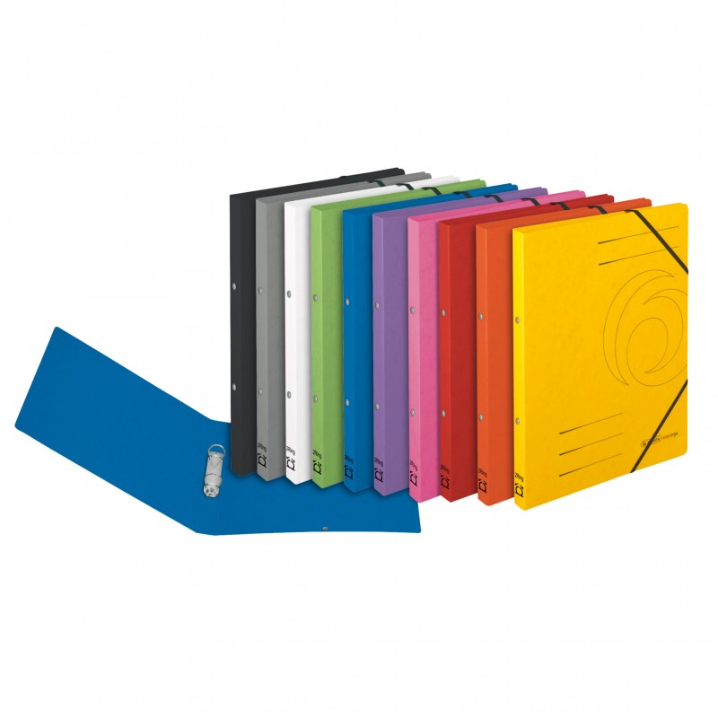 Herlitz Ringbuch / Ringhefter · colorspan · A4 · schmal · rot