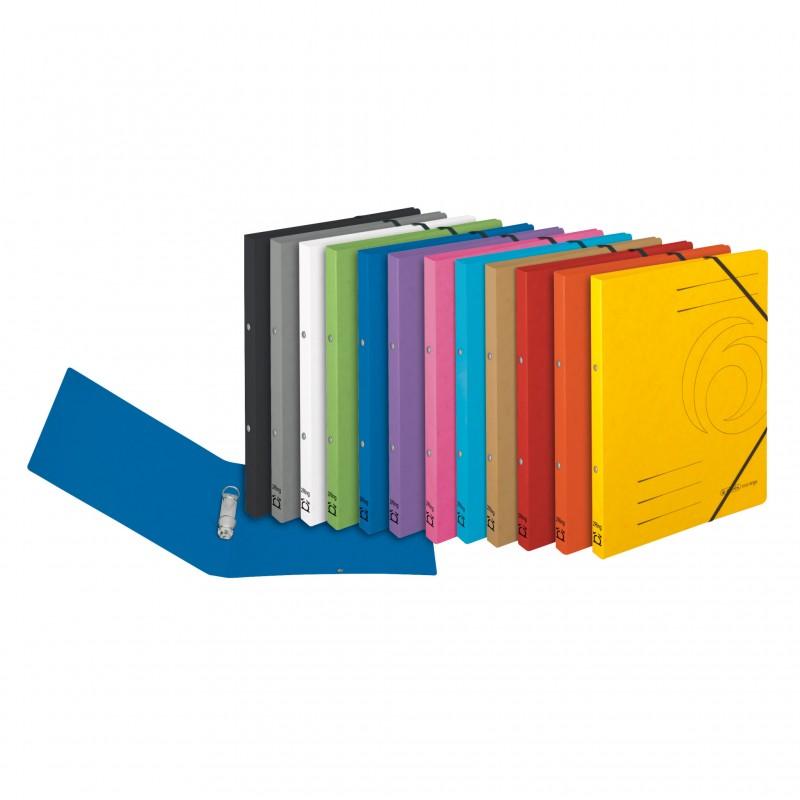 Herlitz Ringbuch / Ringhefter · colorspan · A4 · schmal · gelb