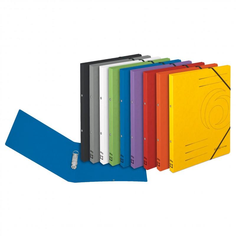 Herlitz Ringbuch / Ringhefter · colorspan · A4 · schmal · grau