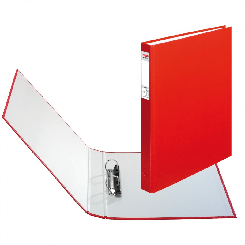 Herlitz Ringbuch · maX.file protect · A4 · rot