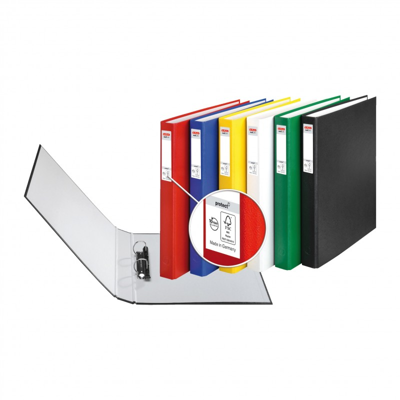 Herlitz Ringbuch · maX.file protect · A4 · grün