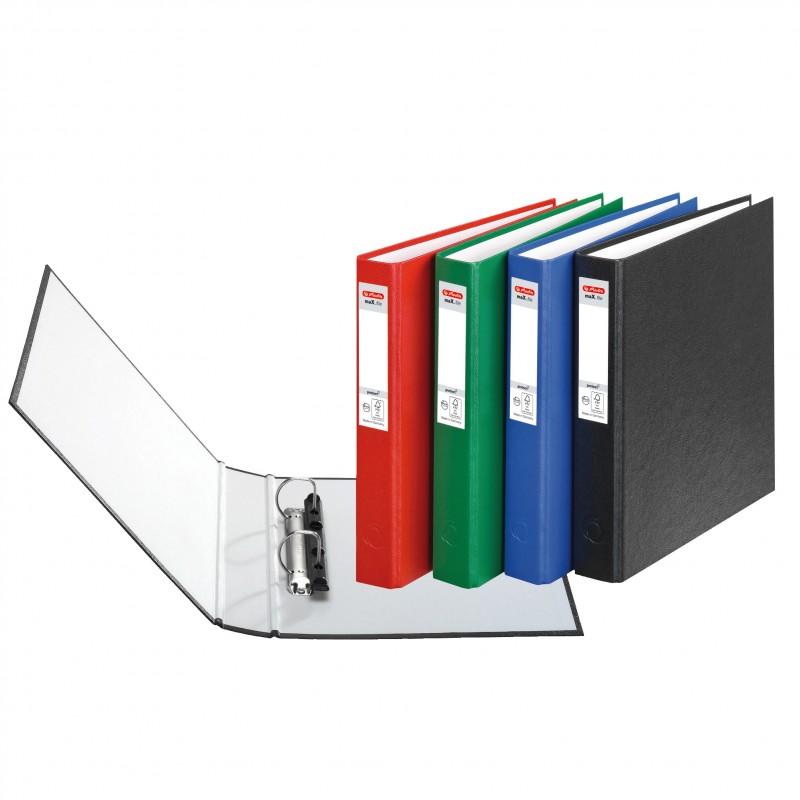Herlitz Ringbuch · maX.file protect · A5 · blau