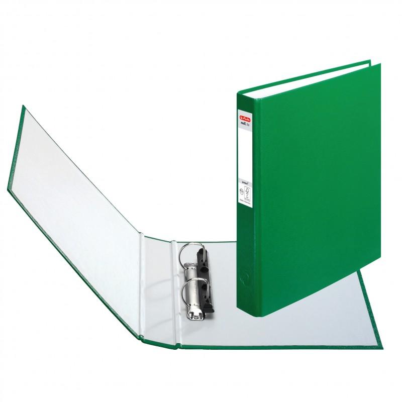 Herlitz Ringbuch · maX.file protect · A5 · grün