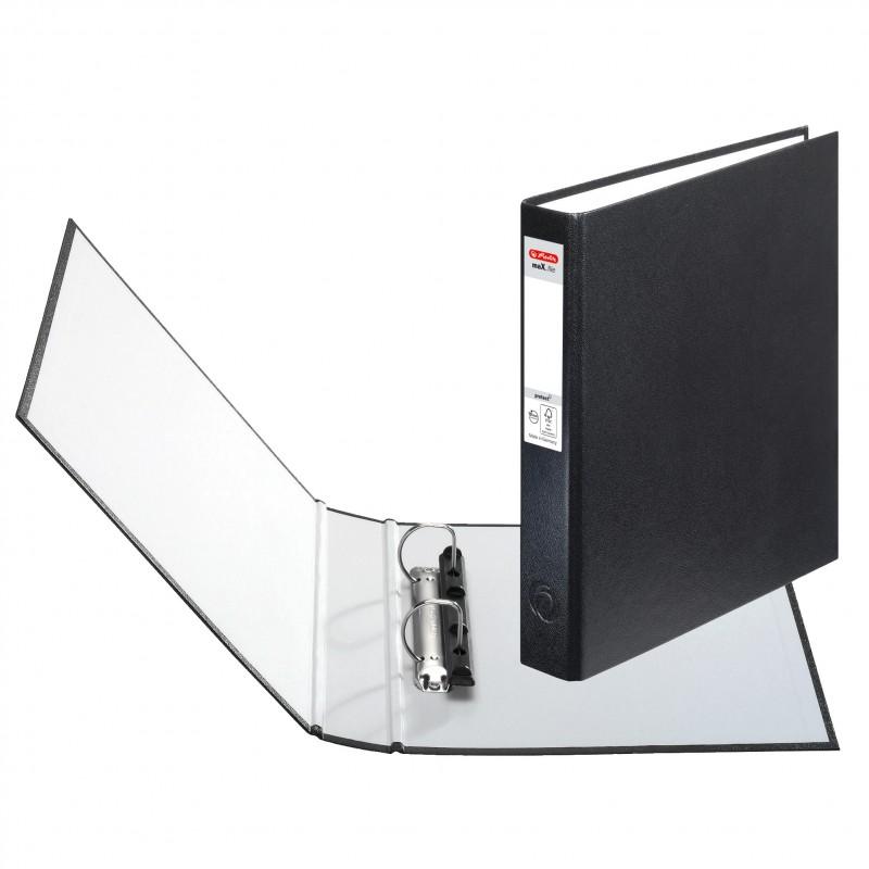 Herlitz Ringbuch · maX.file protect · A5 · schwarz