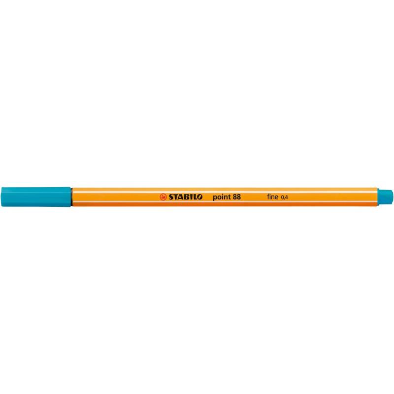 STABILO® Fineliner STABILO® point 88® · 0,4 mm · hellblau