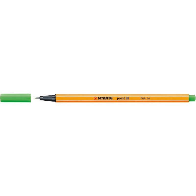 STABILO® Fineliner STABILO® point 88® · 0,4 mm · hellgrün