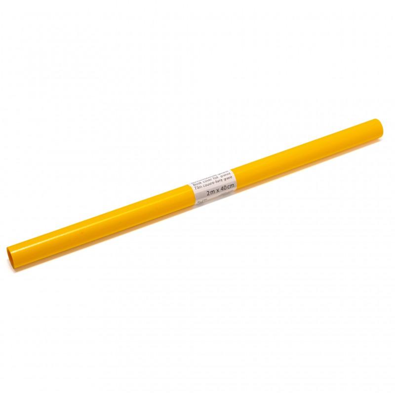 HERMA Buchschutzfolie · 2m x 40cm · gelb