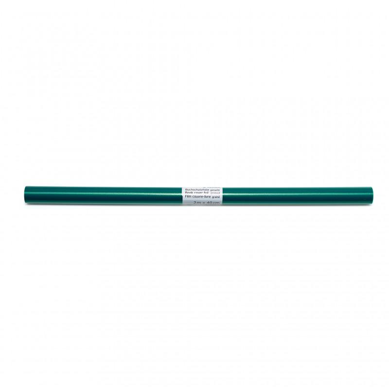 HERMA Buchschutzfolie · 2m x 40cm · grün