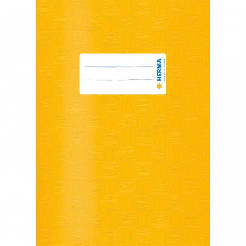 HERMA Heftschoner · PP · A5 · gedeckt · gelb