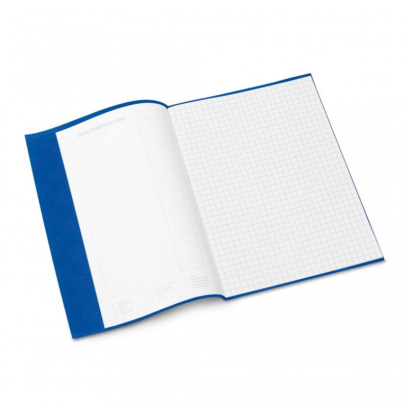 HERMA Heftschoner · PP ·  A5 · gedeckt · dunkelblau