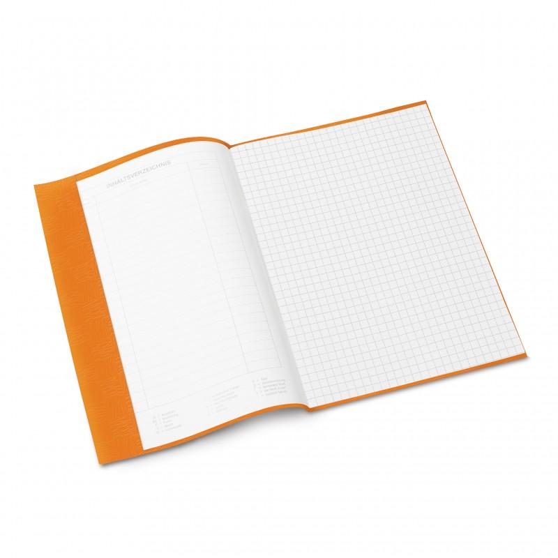 HERMA Heftschoner · PP ·  A5 · gedeckt · orange
