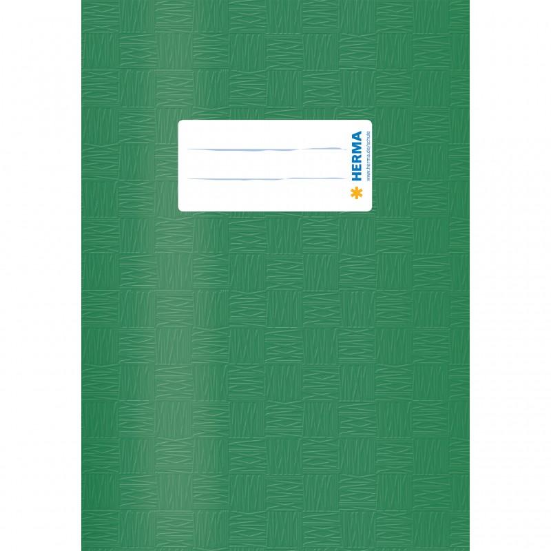 HERMA Heftschoner · PP ·  A5 · gedeckt · dunkelgrün