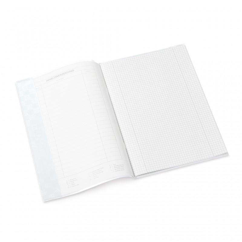 HERMA Heftschoner · PP · A4 · gedeckt · weiß