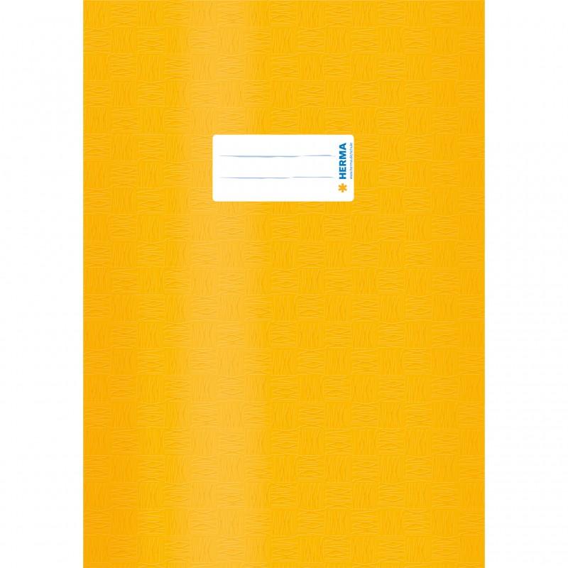 HERMA Heftschoner · PP · A4 · gedeckt · gelb