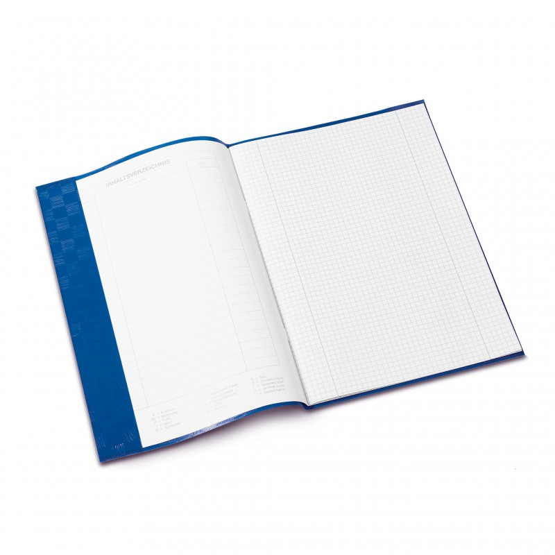 HERMA Heftschoner · PP · A4 · gedeckt · dunkelblau
