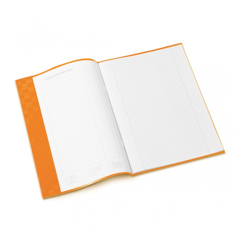 HERMA Heftschoner · PP · A4 · gedeckt · orange