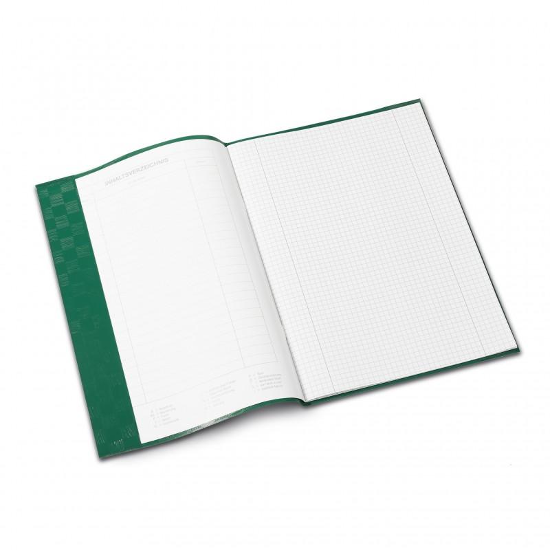 HERMA Heftschoner · PP · A4 · gedeckt · dunkelgrün