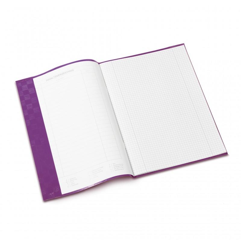 HERMA Heftschoner · PP · A4 · gedeckt · violett