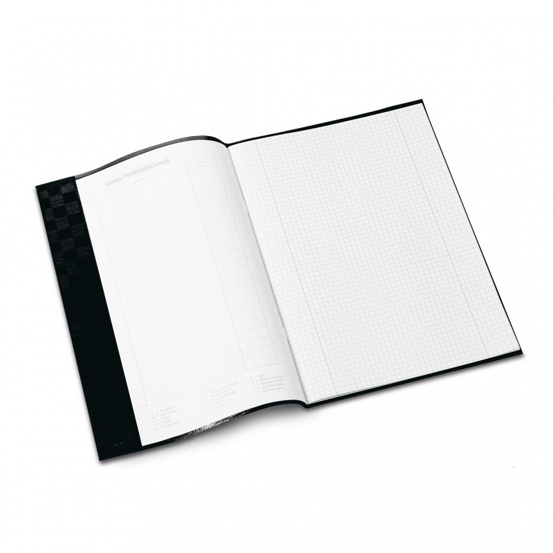 HERMA Heftschoner · PP · A4 · gedeckt · schwarz