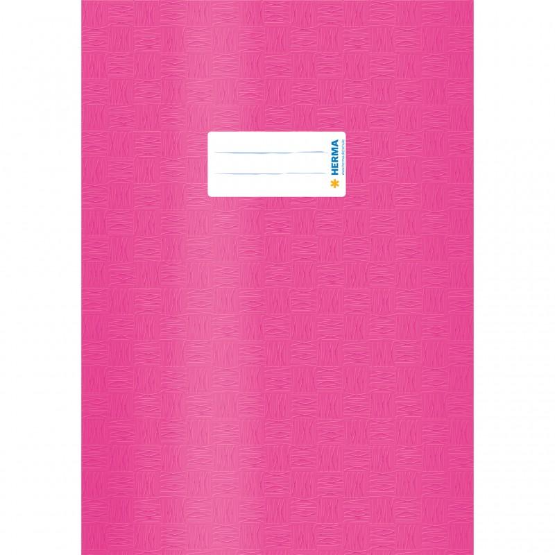 HERMA Heftschoner · PP · A4 · gedeckt · pink
