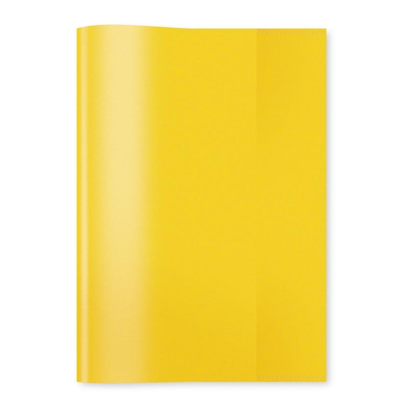 HERMA Heftschoner · PP · A4 · transparent · gelb