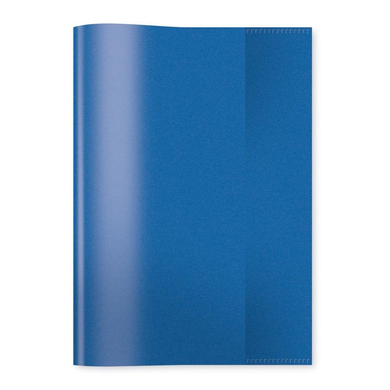 HERMA Heftschoner · PP · A4 · transparent · dunkelblau