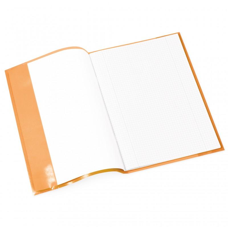 HERMA Heftschoner · PP · A4 · transparent · orange