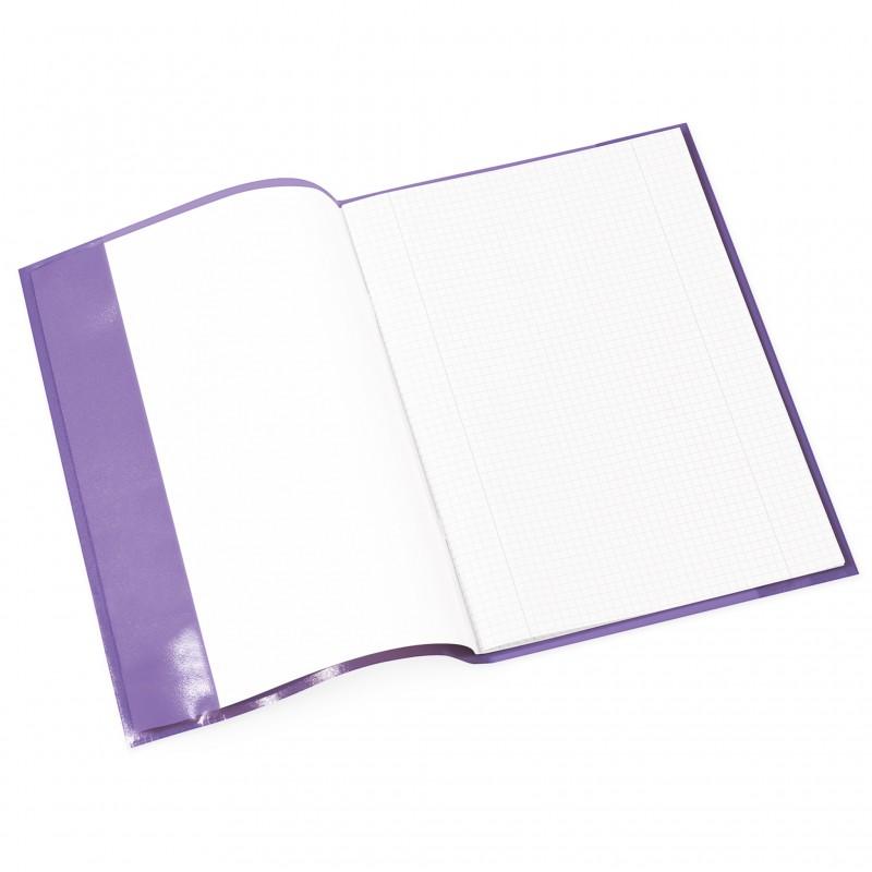 HERMA Heftschoner · PP · A4 · transparent · violett